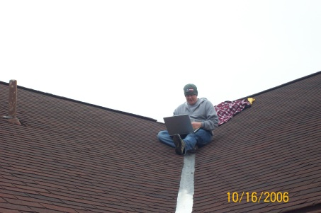 Ryan on Roof