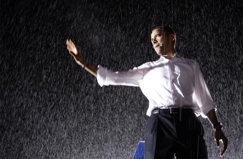 obama-rain1