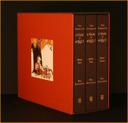 comic book gift ideas - Complete Calvin & Hobbes